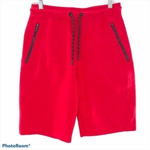 CHAMPS CSG | Men's Red Jogger Shorts